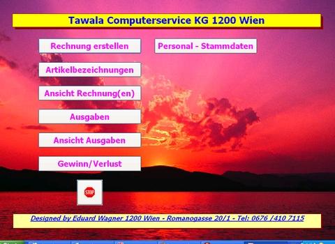 Tawala Computerserve KG 1200 Wien Klosterneuburger Straße 14