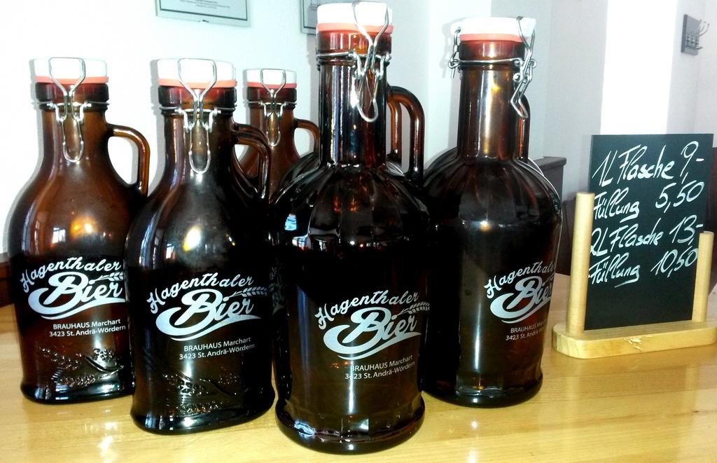 news das hagenthaler bier jetzt auch in nostalgie flaschen brauhaus marchart 3423 st andr. Black Bedroom Furniture Sets. Home Design Ideas