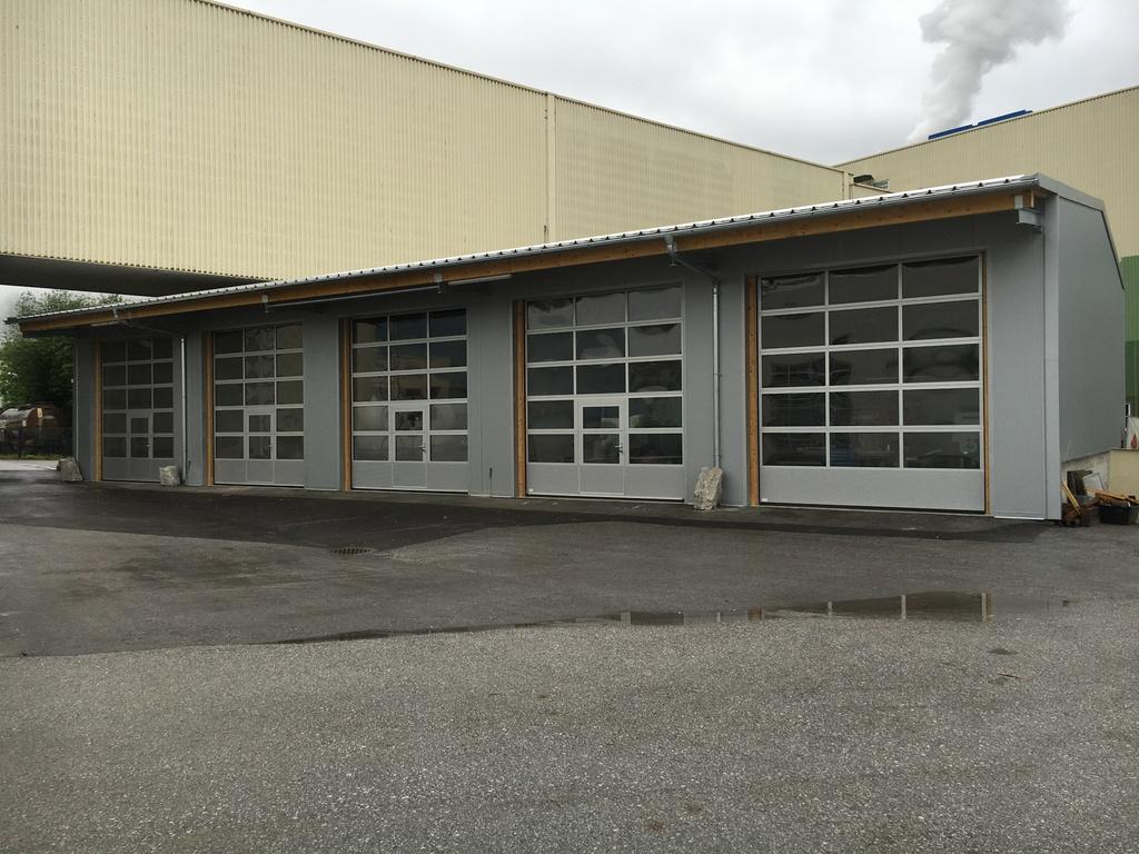 4plus project GmbH - Errichtung einer Fertig-Systemhalle