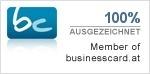 Businesscard - Mitglied
