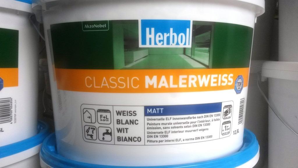 Produkte leistungen herbol classic malerweiss - Farbtone wandfarbe ...